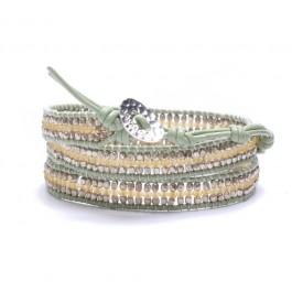 Bracelet light green Cheyenne Nakamol Chigaco