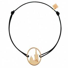 Bracelet Marie plaqué or Les étoiles de Lily