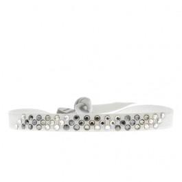 Bracelet diago gris clair
