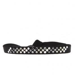 Bracelet diago noir Les Interchangeables
