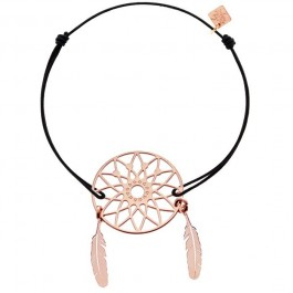 Bracelet DreamCatcher plaqué or rose