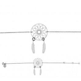 Bracelet chaine Dreamcatcher argent