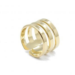 Triple Gold Plated Ring