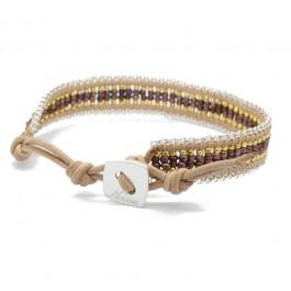Bracelet Kayapos copper gold Nakamol