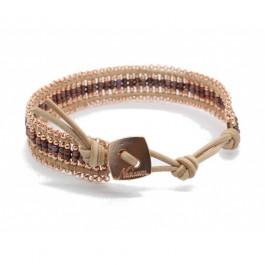 Bracelet Kayapos copper pink Nakamol