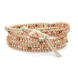 Bracelet pink chain Nakamol