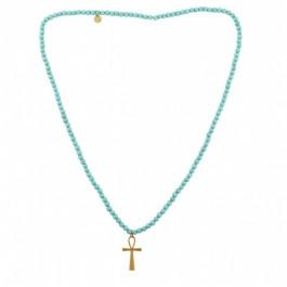 Collier (sautoir) Sky croix Chellmy Jewellery