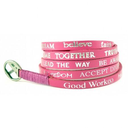 Bracelet hot pink standard