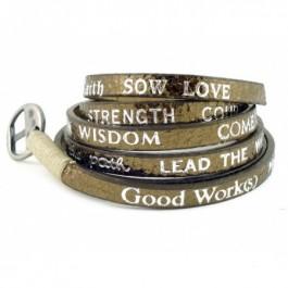 Bracelet Standard Metallic bronze