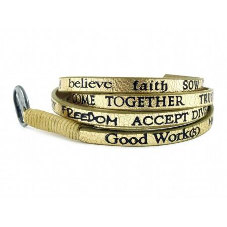 Bracelet Standard Metallic gold