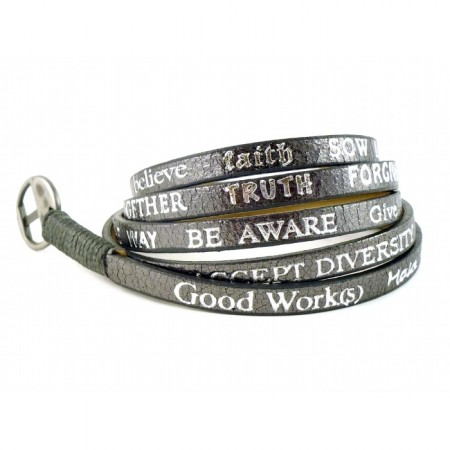 Bracelet Standard Metallic gunmetal