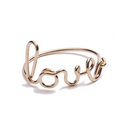 Bague Love Paris Gold