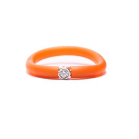 Bague My First Diamond orange