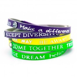 Bracelet Happy Tritons Strass 7 Good Work(s) Make a Difference