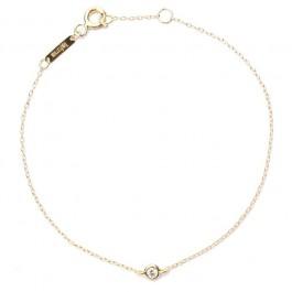 Bracelet or 18 carats et diamant