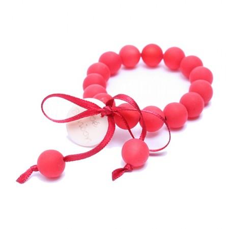 Bracelet enfant rouge