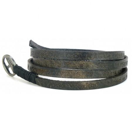 Bracelet Courage Vintage black