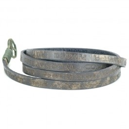 Bracelet Courage Vintage earth grey Good Work(s)