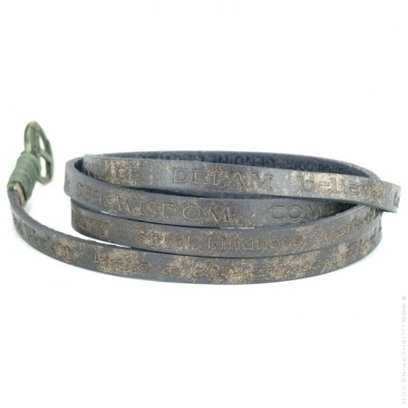 Bracelet Courage Vintage grey
