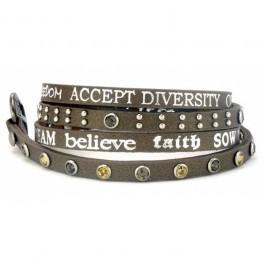 Divine Honesty moss bracelet