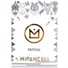 Hipanema temporary tattoos