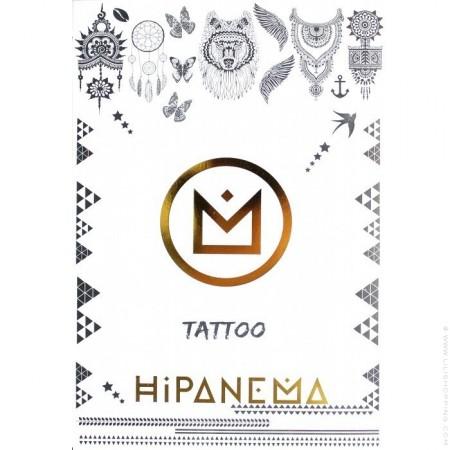 Hipanema temporary tattoos