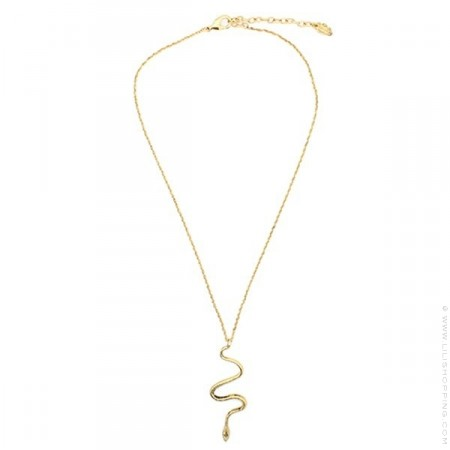 Snake Gold platted necklace