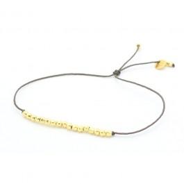 Bracelet Pépites plaqué or