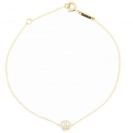 18k Gold and Diamond Bracelet