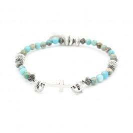 Bracelet Bootleggers Wild Turquoise croix
