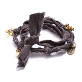 Dark Grey Doudou Bracelet