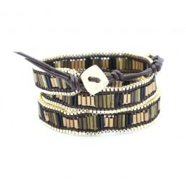bamboo Nakamol wrap bracelet