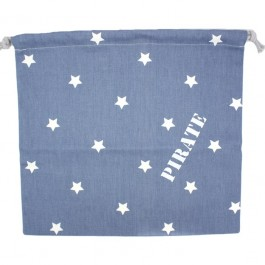 "Pirate"""" blue pouch"