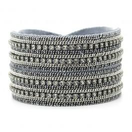 Antic Silver Marie Laure Chamorel wrap bracelet