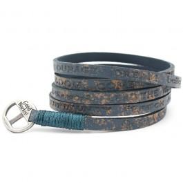 Courage Vintage sea blue bracelet