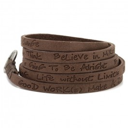 Toffee around eco wrap bracelet