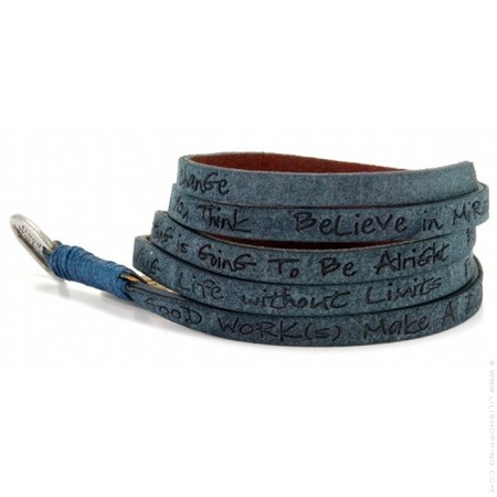 Ocean around eco wrap bracelet