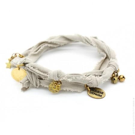 Bracelet doudou ciment