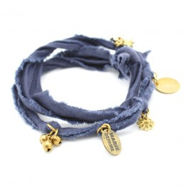 Bracelet doudou bleu marine Marie Depaire