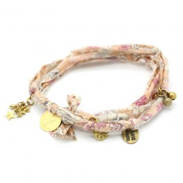 Bracelet doudou flower mangue