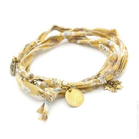 Bracelet doudou flower safran