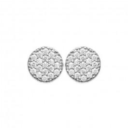 Romy silver earrings