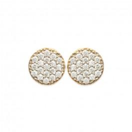 Romy gold platted earrings