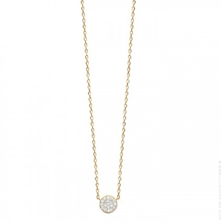 18k gold platted Romy necklace