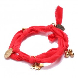Bracelet doudou Marie Depaire rouge