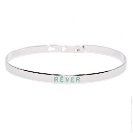 Bracelet Rêver painting plaqué argent