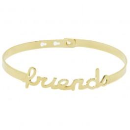 Bracelet Maman plaqué or