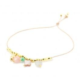 Lou 5 pendants Bracelet
