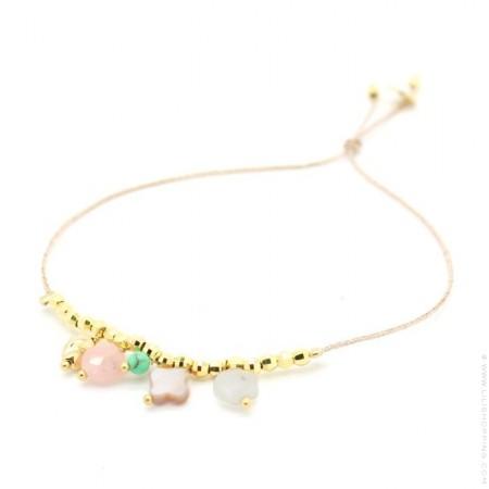 Bracelet Lou 5 pendentifs