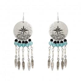 Oby Hipanema silver earrings